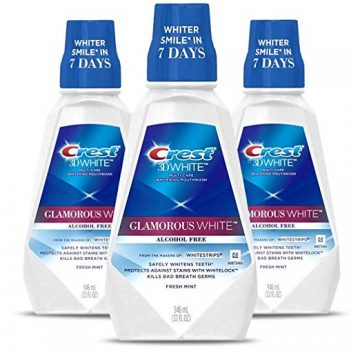 Crest Teeth Whitening Mouthwash
