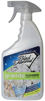Black Diamond Stoneworks Granite Cleaners