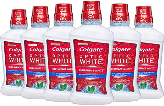 Colgate Teeth Whitening Mouthwash