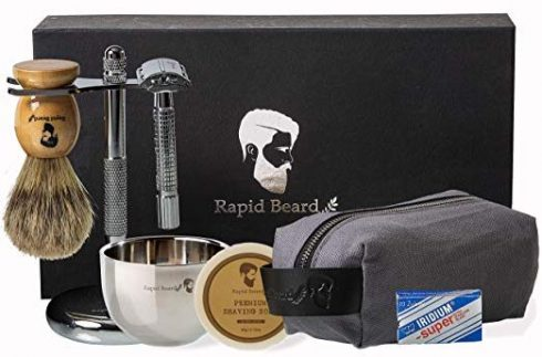 Rapid Beard Shaving Kits for Men