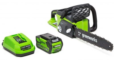 Greenworks Cordless Electric Chainsaws