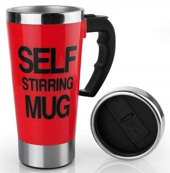 Darnell Nehemiah Self Stirring Mugs