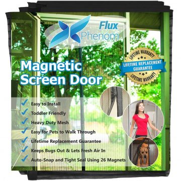 Flux Phenom Retractable Screen Doors