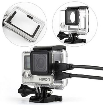 WiserElecton GoPro Waterproof Cases