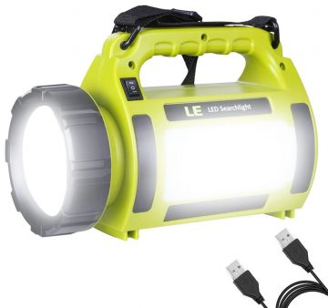 LE Rechargeable Spotlights