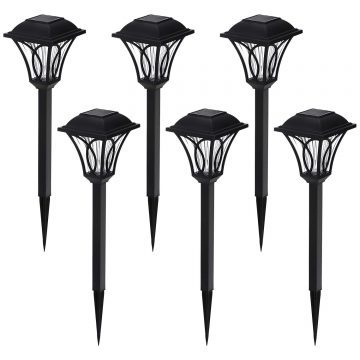 AZIRIER Solar Spot Lights