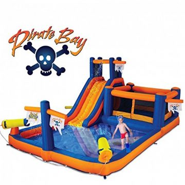 Blast Zone Inflatable Pool Slides