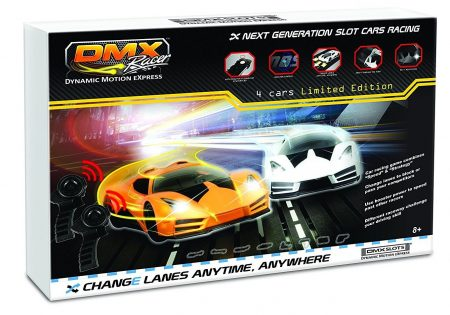 DMXSLOTS Slot Car Sets for Kids