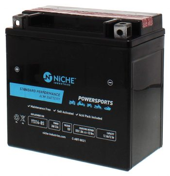 NICHE Motorcycle Batteries