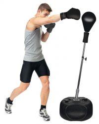 Freestanding Reflex Bag Punching Boxing Ball Speed Training Fitness Kit