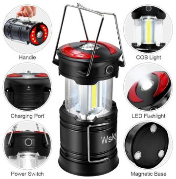 Wsky LED Rechargeable Lanterns