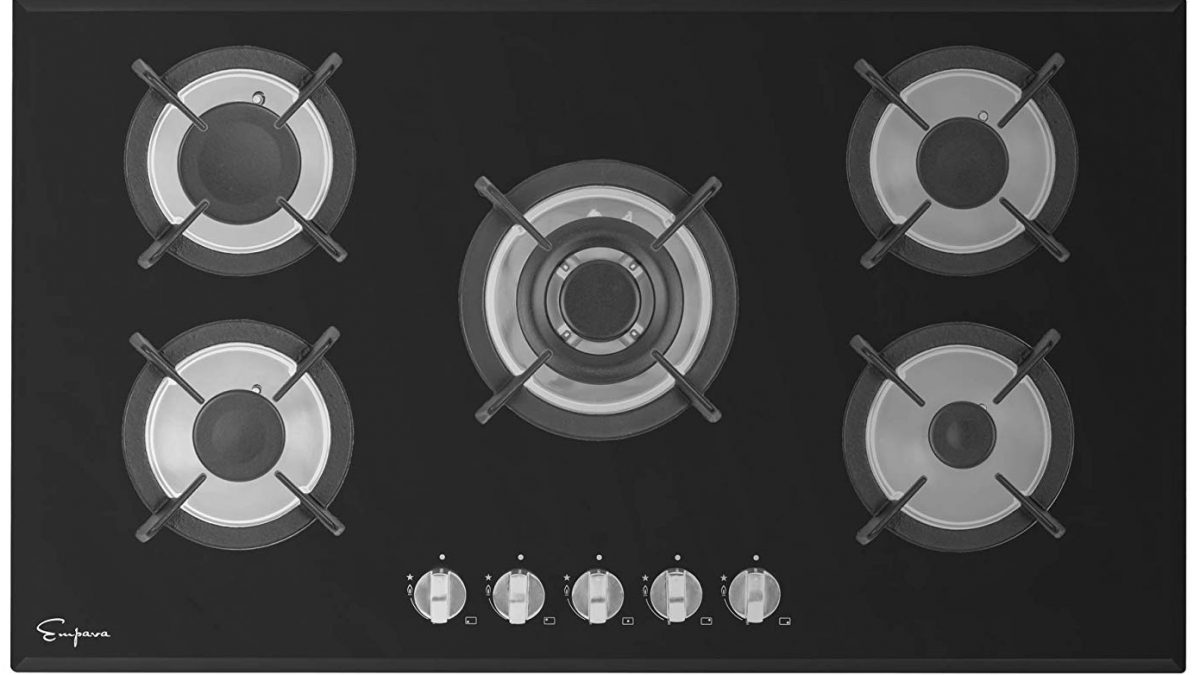 4 Burner Drop-in Propane//Natural Gas Cooker GASLAND Chef 24 Built-in Gas Cooktops 24 Inch Black Tempered Glass Gas Stove Top