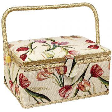 Adolfo Design Sewing Baskets