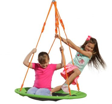 SLIDEWHIZZER Backyard Swing Sets
