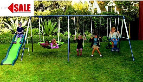 Skroutz Backyard Swing Sets