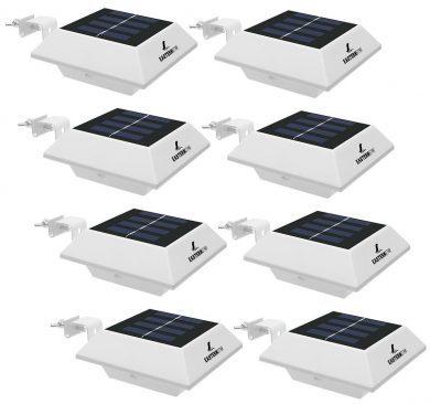 EASTERNSTAR Solar Gutter Lights