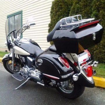 7BLACKSMITHS Motorcycle Trunks
