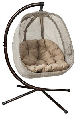 Flower House Hanging Chaise Loungers