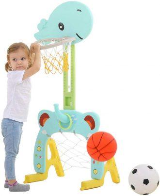 Arkmiido Basketball Hoop for Kids