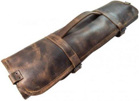 Hide & Drink Leather Knife Rolls